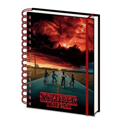 Stranger Things 2 Mind Flayer A5 Lenticular Notebook Note Pad